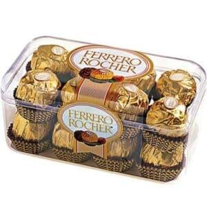 Подарок из хрустящей конфеты FERRERO (200 гр.) - Фото 45