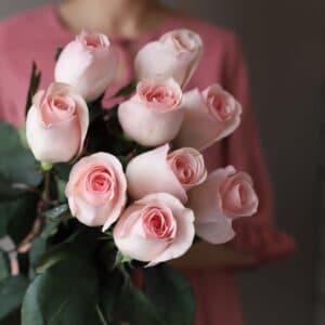 Монобукет из 9 роз (Эквадор) №1042 - Фото 38